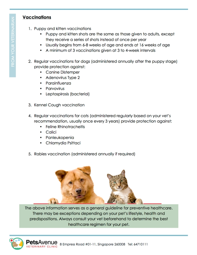PAVC Pet Healthcare series - Preventive Care2