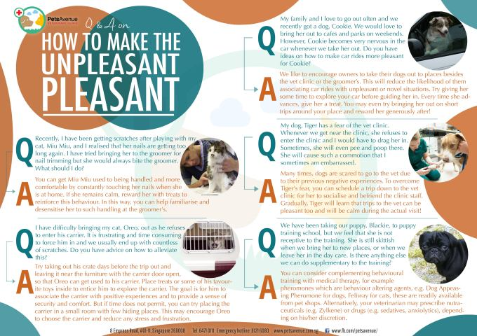 How to make the unpleasant pleasant